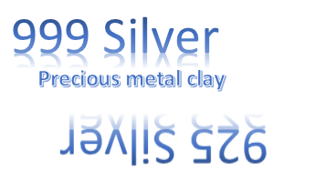 Silver clay or metal silver? Sterling silver compared to fine silver