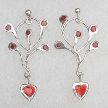 What to do with silver clay remains? Make silver clay bezels!