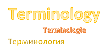 Precious metal clay terminology in three languages – English, Russian, Dutch