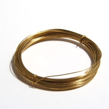 Brass wire necklace experience