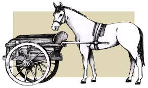 Jewellery accessories: the cart and the horse