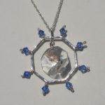 Nautical jewellery set - ship wheel necklace