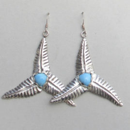 wind turbine earrings