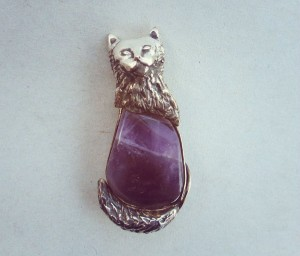 main coon cat pendant