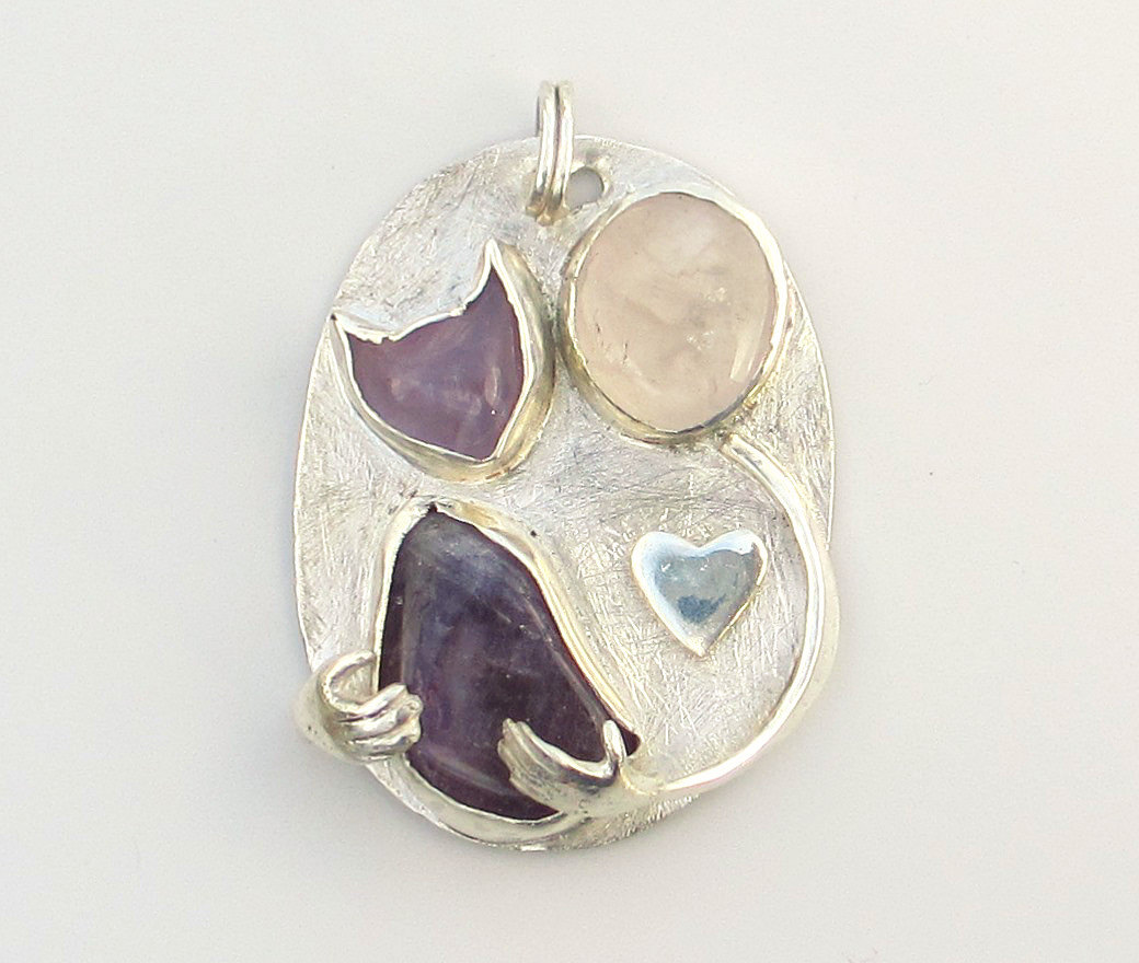 cat lovers pendant