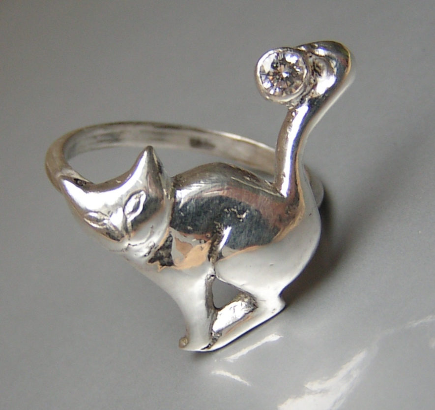 Question Mark Cat Question Mark Cat Ring