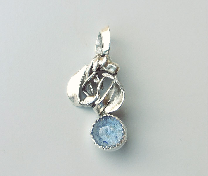 glass water drop pendant