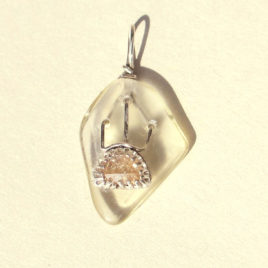 Sunrise pendant sterling silver